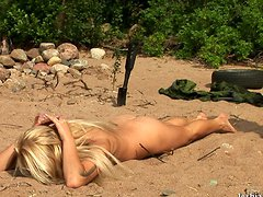 Outdoor special naked fem army education